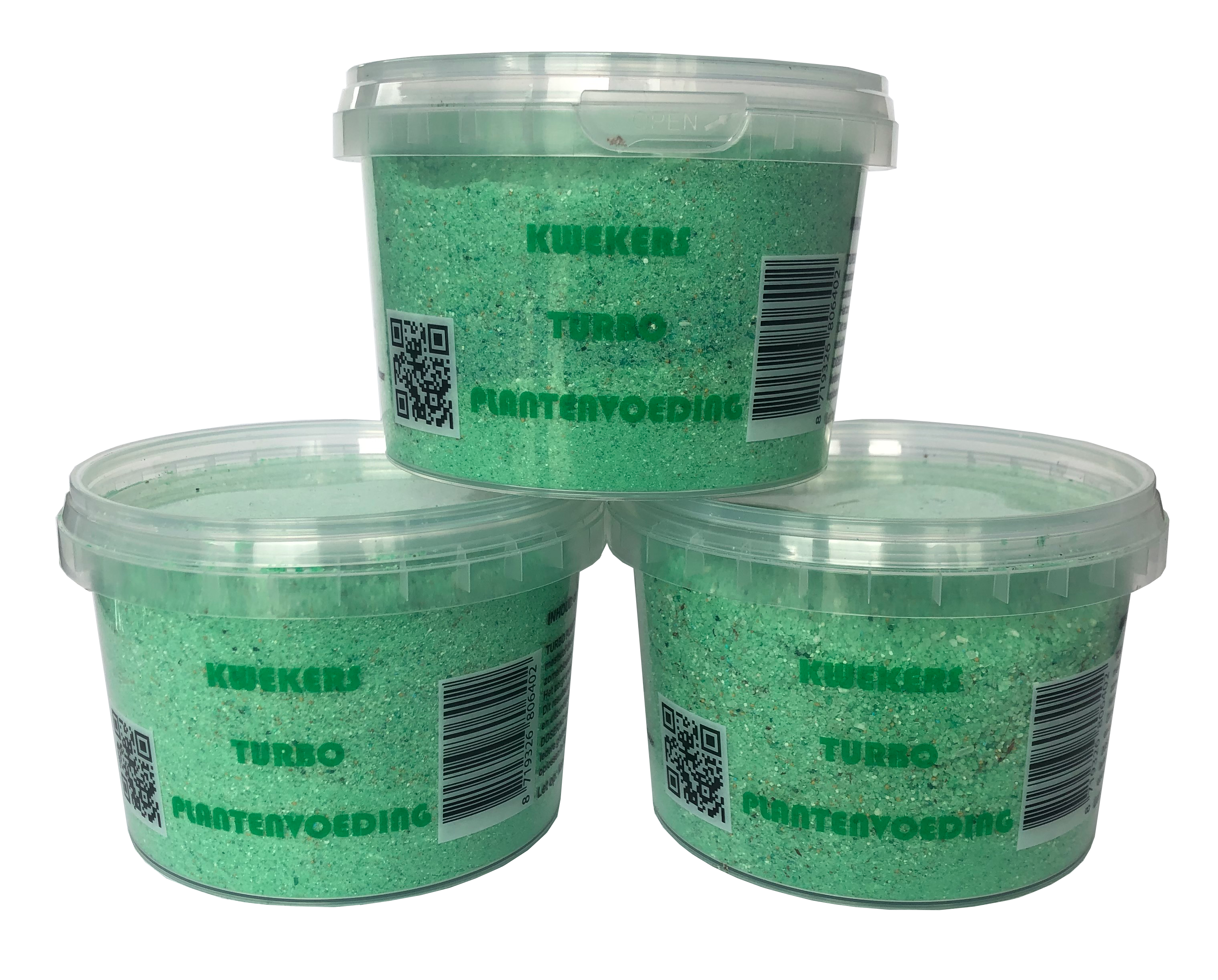 Kwekers Turboplantenvoeding 3x 500g